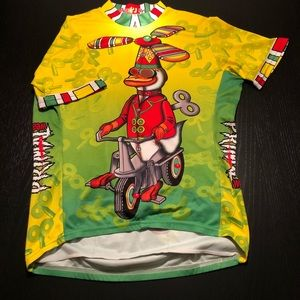 Primal Wear QUACKED UP Cycling Jersey large unique